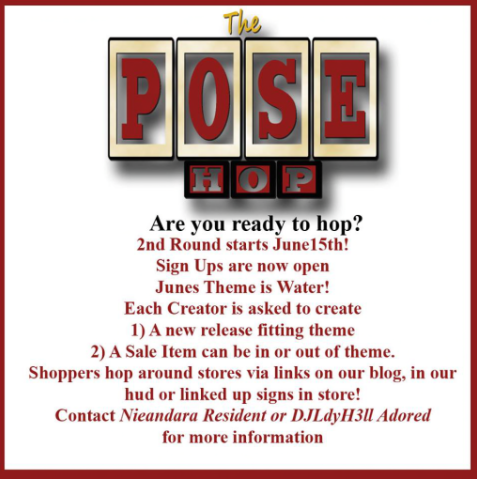 Pose hop Event