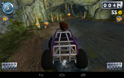 Beach buggy blitz the racing game: Driving in the cave