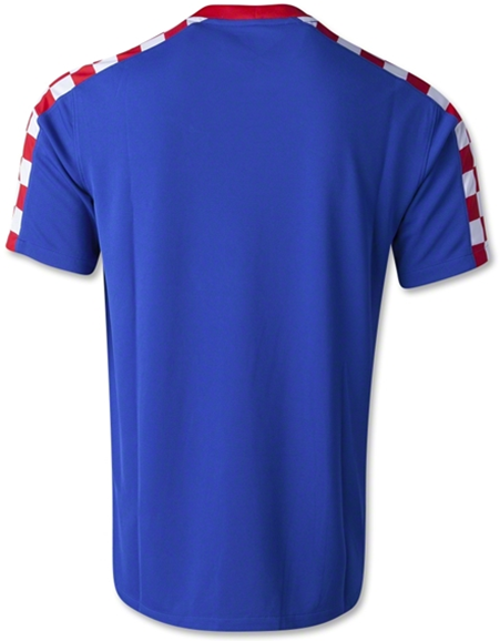Croatia 2014 FIFA World Cup Away Soccer Jersey Football