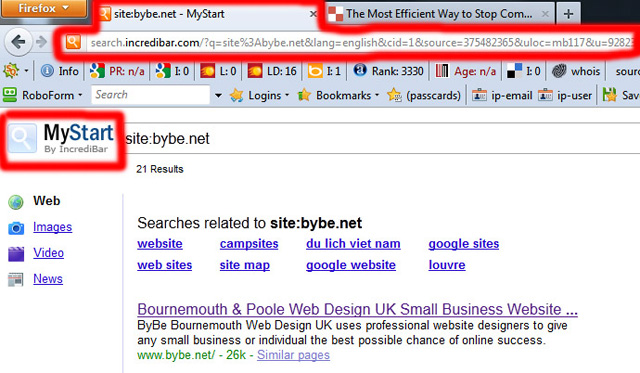 how to uninstall and remove mystart incredibar from firefox google chrome internet explorer browser and pc windows xp windows 7