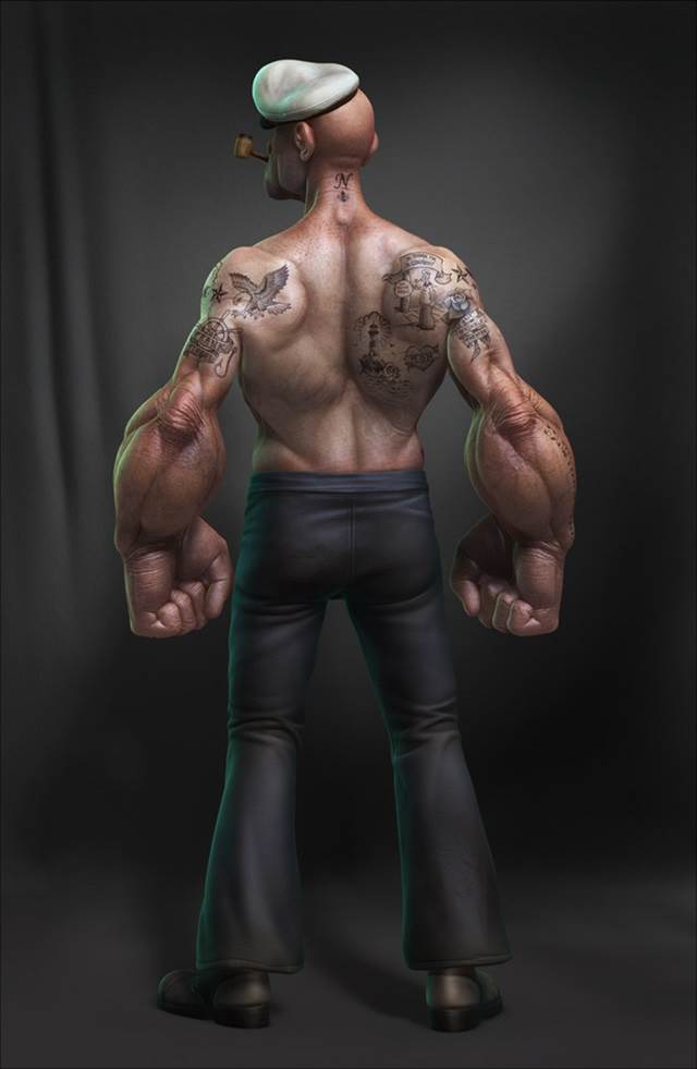 popeye-cartoon-3d