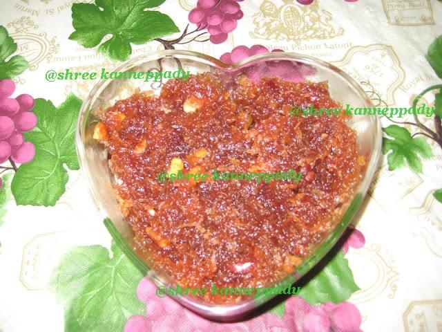 Just Cooking N Baking ....: Apple Halwa