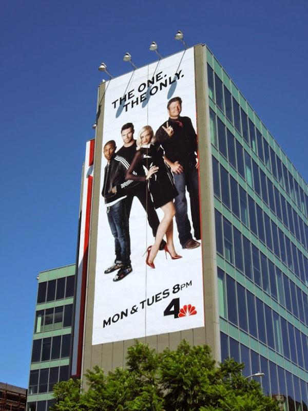 The Voice season 7 giant billboard