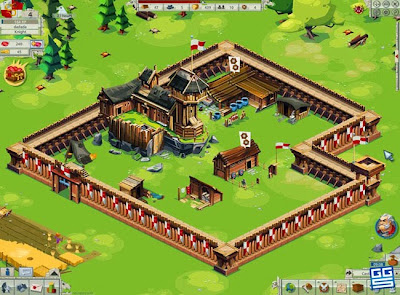 pembangunan kerajaan Goodgame Empire