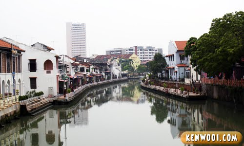 malacca river day