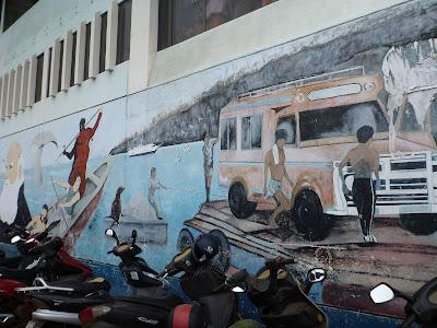 Darwin Mural - Puerto Ayora