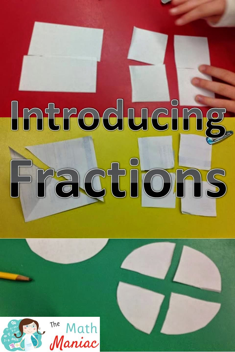 Worksheet 1st Grade Fractions the elementary math maniac fractions first grade and common core