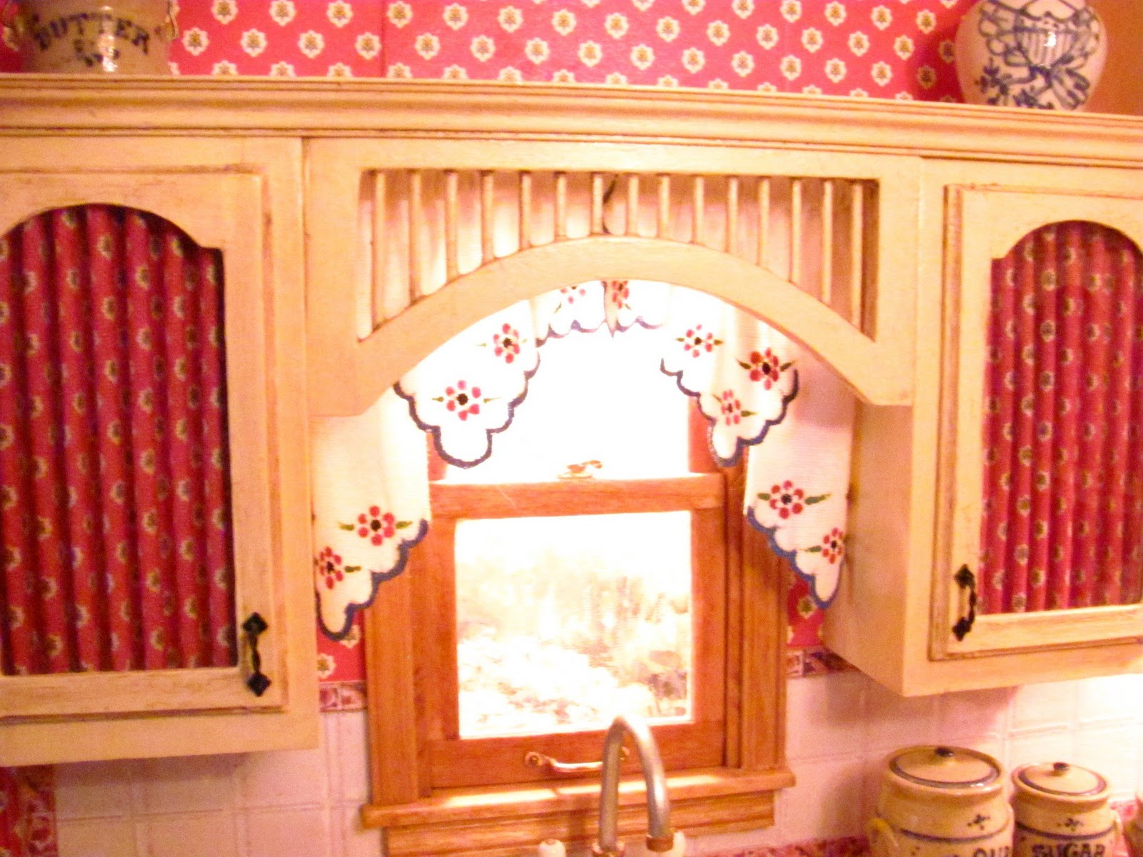 How to Make Mini Doll Houses for Kitchen Cabinets
