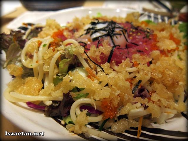 Maguro Yukke Pasta Salad  - RM16.80