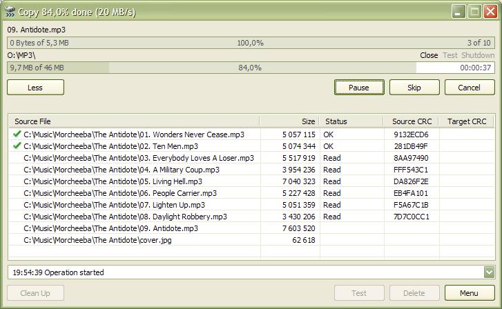 TeraCopy Pro v3.0 Alpha 2 Full Serial Number Terbaru screenshot