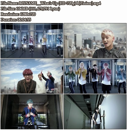 Download PV MYNAME - What's Up (HD 720p)