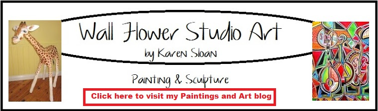 Wall Flower Studio Art blog