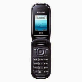 Samsung Caramel GT-E1272 yg mempunyai rancangan yg simple & ramping