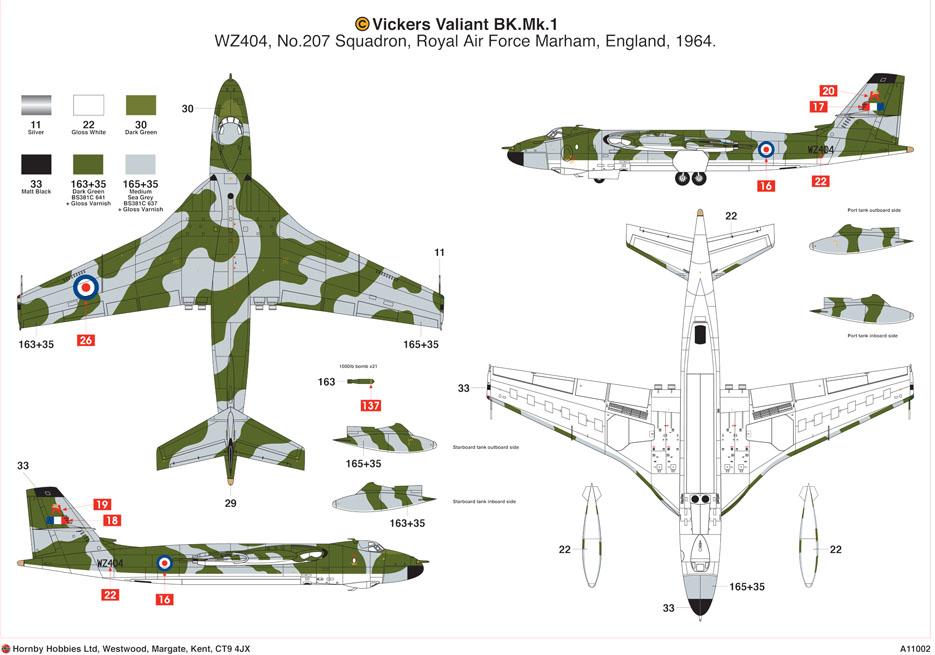 Airfix 1 72 Vickers Valiant