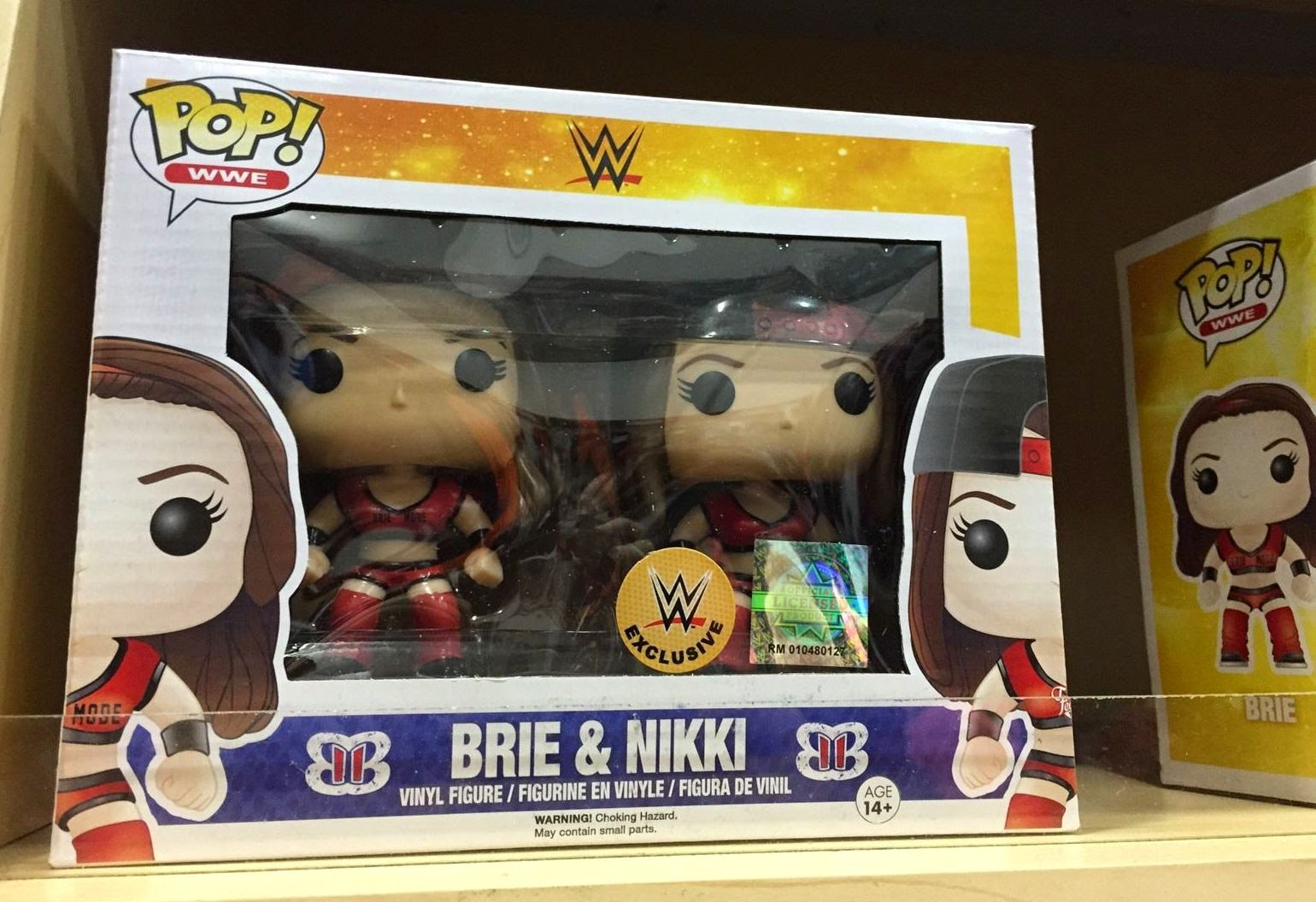 Funko Pop! Bella Twins Pack