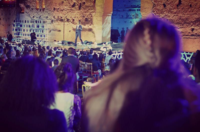 jamel debbouze on stage during marrakech du rire 2013