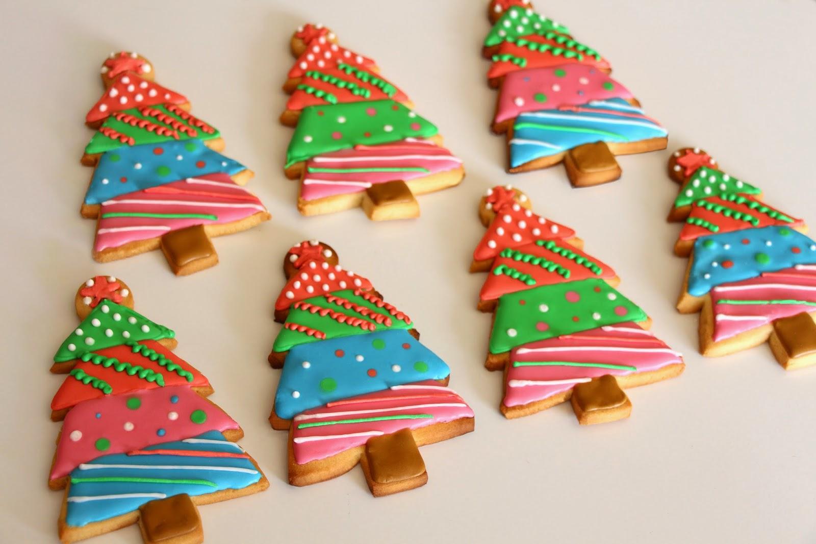 Mardefiesta: Galletas árbol de Navidad