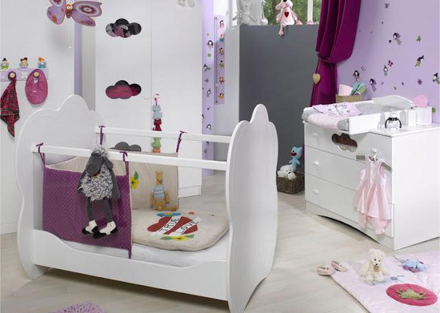 سرير الفراشة طقم مفارش أطفال baby room butterfly مفروشات غرف حضانة Butterfly baby
