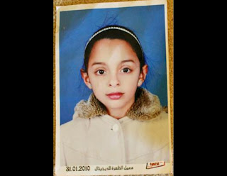 Farah Fathi Jfara was 9 when she died in a NATO air strike (Photo courtesy of the Jfara family via HRW)