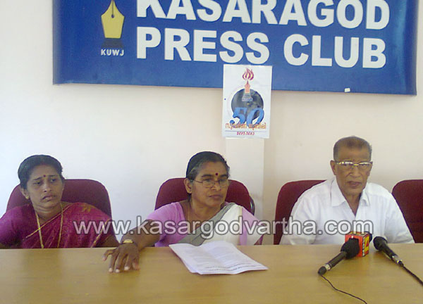 Press Meet, Ashaworker, Collectorate, March, LDF, Conference, Kasaragod, Kerala, Kerala Vartha, Kerala News.