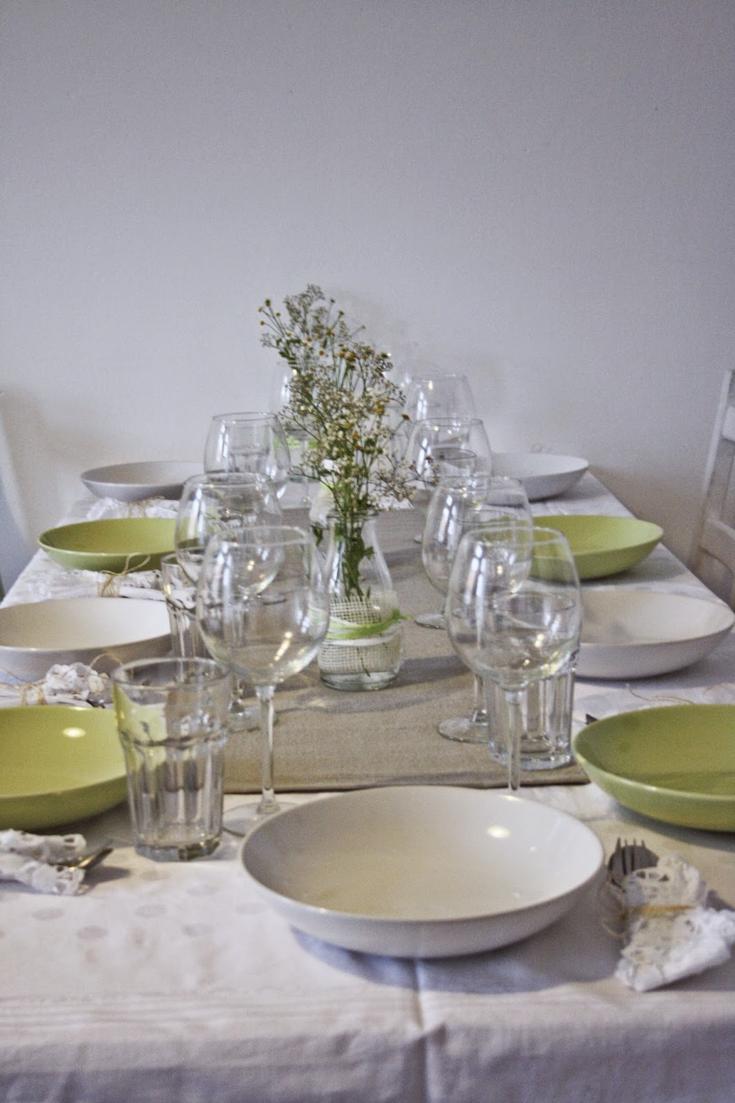 Fashionblog Deutschland Spring table setting