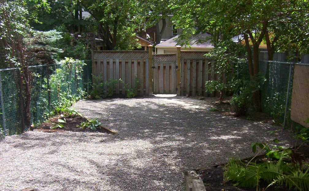 Riverdale Ave. Toronto backyard renovation after picture by Paul Jung Gardening Services