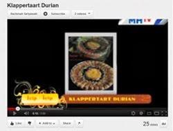 Liputan Durian Klappertaart di MHTV