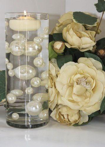 The Gracious Way Diy Floating Pearl Bead Vases