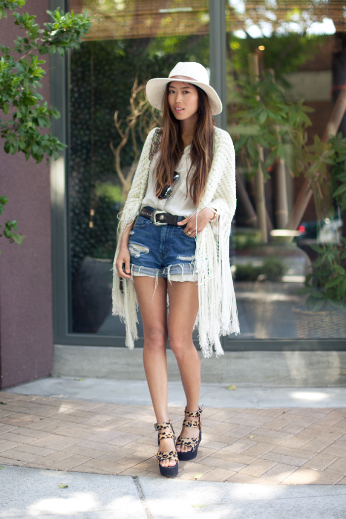Denim Shorts Obsession | Song of Style