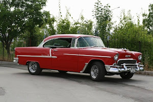 My car 1: 1955 Chevrolet Belair Sports Coupe