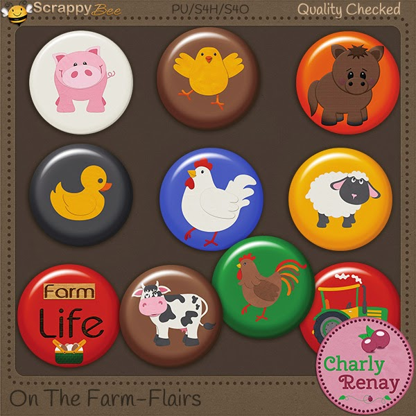Preview of On The Farm by Charley Renay Designs