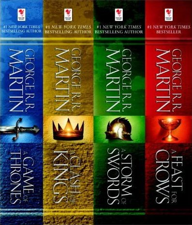 George r r martin s a game of thrones 4 book bundle book review