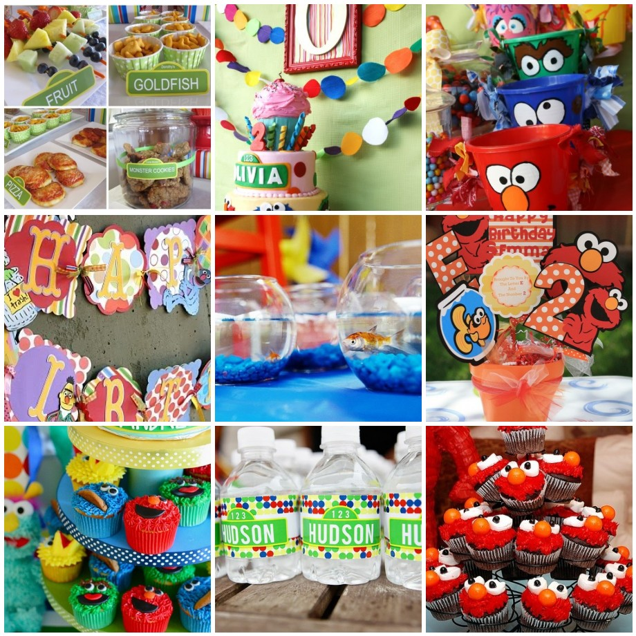 Elmo 1st birthday party ideas birthday party sesamestreet - Crossing The Bugger Dixon Line Party Swap Friday 2 Featuring Elmo