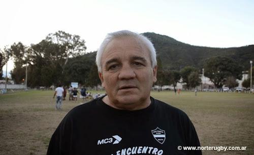 Oscar Muñoz, entrenador de Tiro Federal