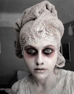 Halloween thread! Ghost+makeup