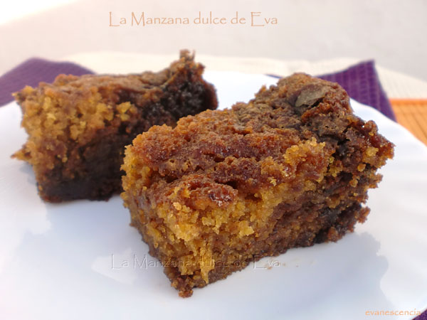 Pumpkin Nutela Snack Cake
