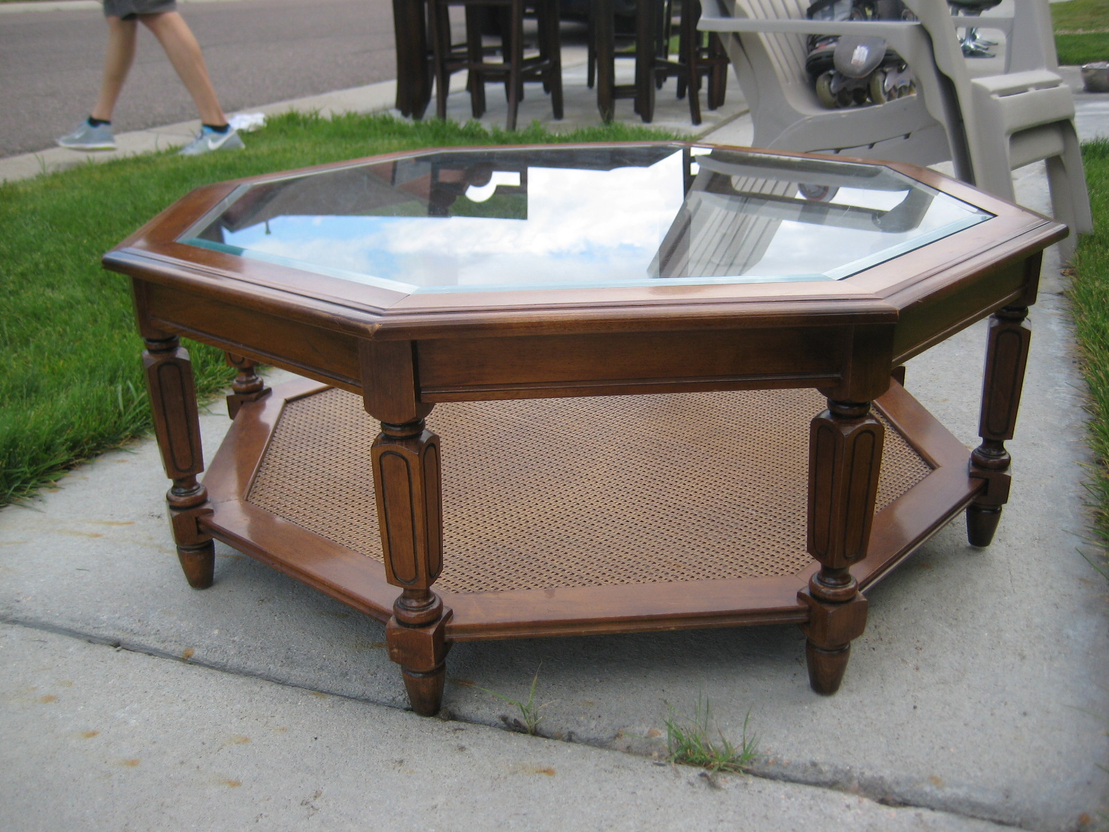 Octagon Coffee Table   $50 Obo