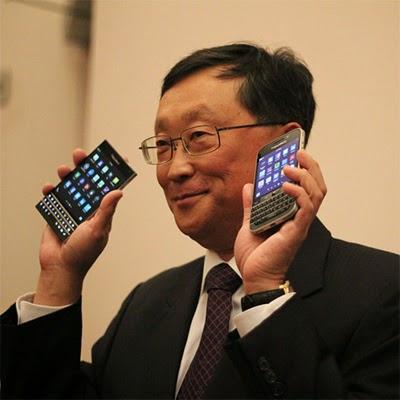 Jhon Chen & BlackBerry Classic