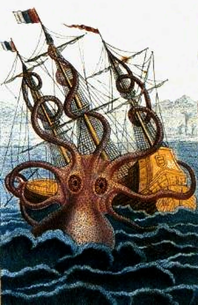 Kraken sea monsters