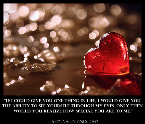 My Coolest Quotes Valentine S Day Quote How Special You Are To Me