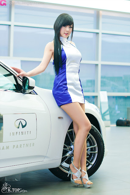 8 Hwang Mi Hee - Infiniti G Racing Limited Edition-very cute asian girl-girlcute4u.blogspot.com