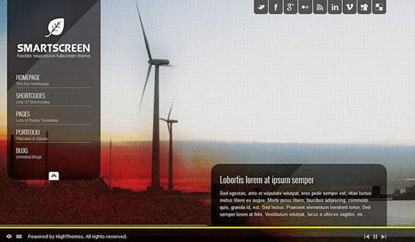 smartscreensingle-page-Theme