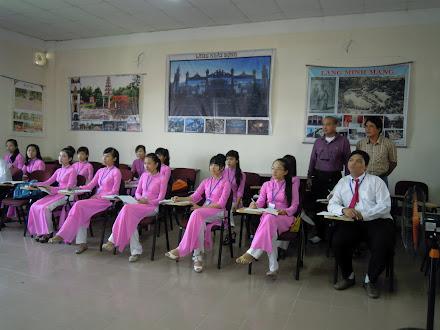 ศึกษาดูงานการจัดการเรียนการสอนวิทยาลัยการท่องเที่ยวใน ประเทศเวียดนาม