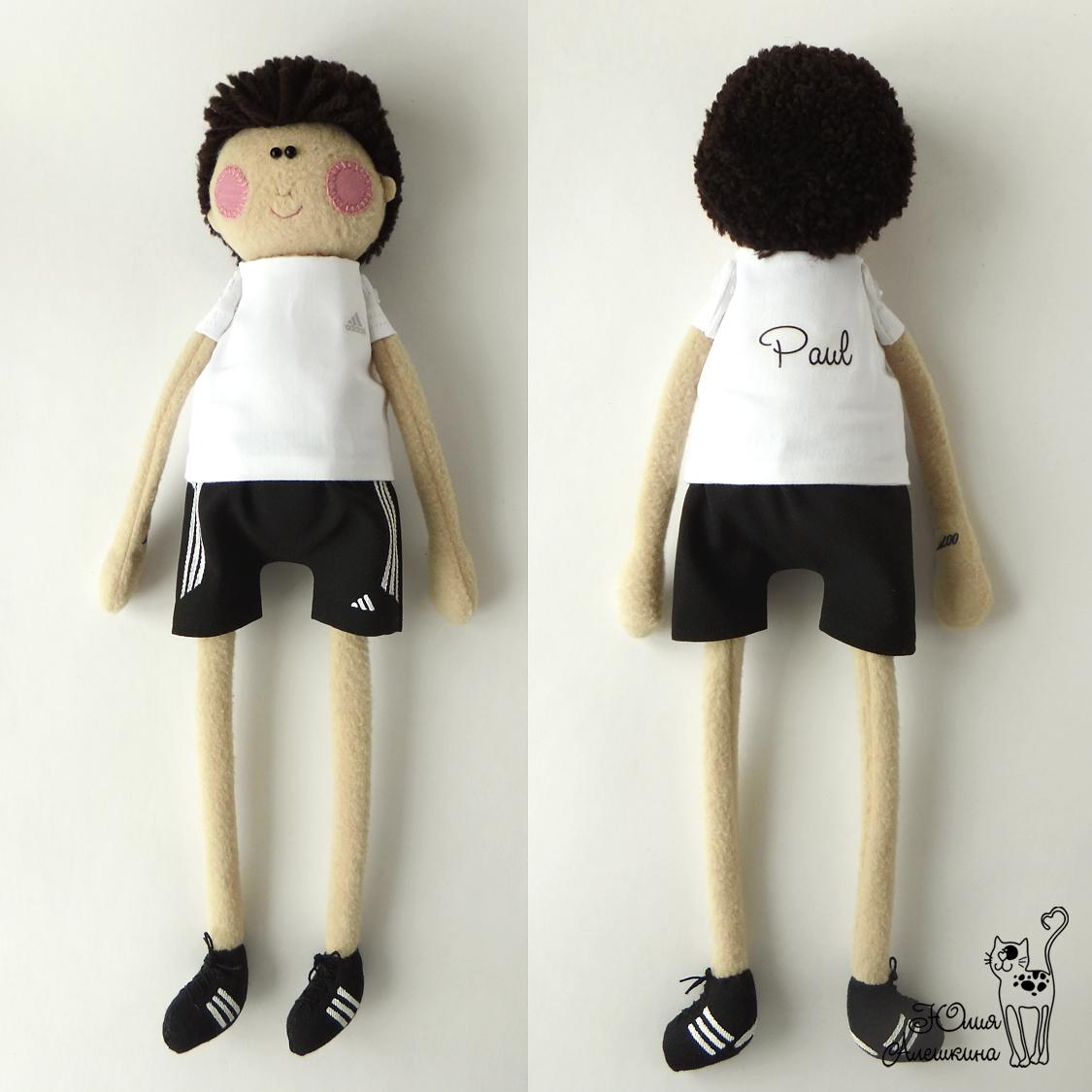 куклы из флиса