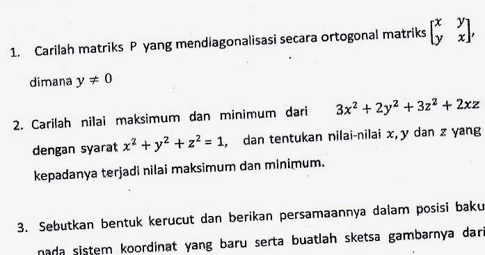 Etnik Amor Kumpulan Soal Uas Semester 4 Prodi Pendidikan Matematika Uad Universitas Ahmad Dahlan