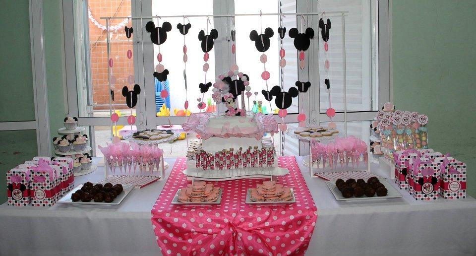 Tus dulces deseos mesa dulce de minnie for Mesa salada para cumple