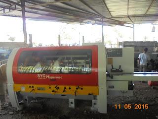 Mesin moulding
