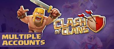 Cara Bermain CoC Clash of Clans Lebih dari Satu Akun pada Satu Smartphone Android