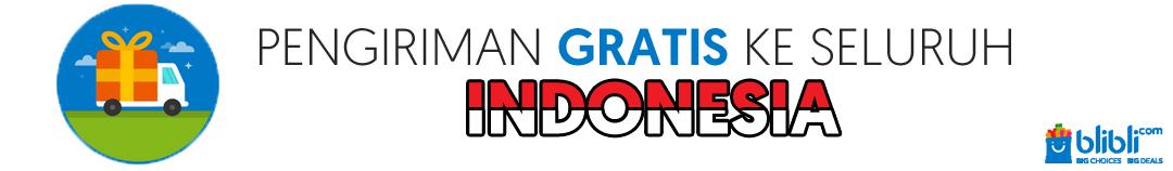 gratis pengiriman ke indonesia di blibli.com