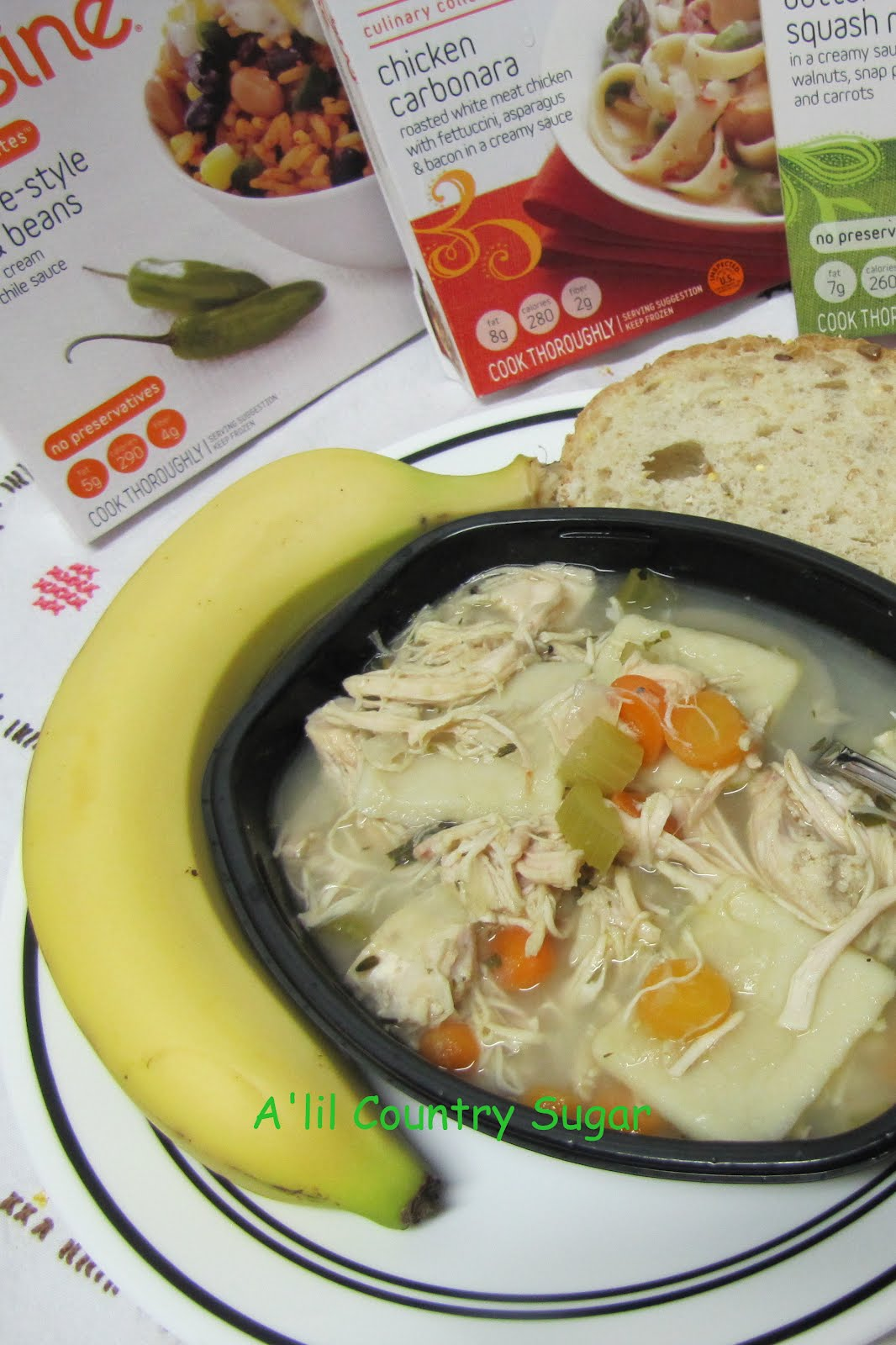 ... lil Country Sugar: Can I Match Lean Cuisine? Chicken and Dumpling Soup
